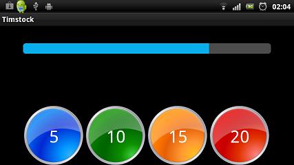 Timstock app för Android
