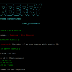 pentest for dummies – WarBerry on Raspberry Pi
